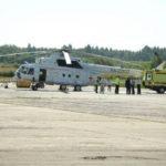 В Вологду прибыл первый вертолет с медицинским модулем